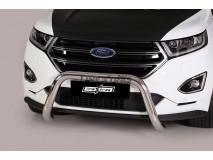 Big Bar U Ford Edge 2016+ Stainless Steel 76MM W/EC