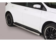 Side Steps Ford Edge 2016+ Stainless Steel Tube 76MM