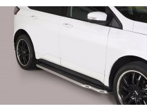 Side Steps Ford Edge 2016+ Stainless Steel W/ Platform