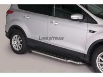 ESTRIBOS INOX DOUBLE CAB FORD KUGA 2013