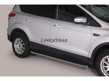 ESTRIBOS OVAL INOX 4P FORD KUGA 2013