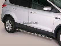 Side Steps Ford Kuga 13-16 Stainless Steel DSP