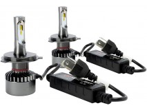 KIT LAMPADAS LED H4 SUPERLITE