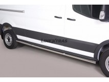 Side Protections Ford Transit 2014+ Stainless Steel Tube 63MM