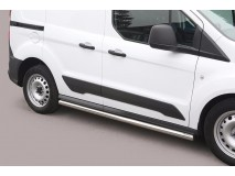 Side Protections Ford Transit Connect 2014+ Stainless Steel Tube 63MM