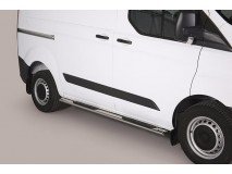 Side Steps Ford Transit Custom L1 2013+ Stainless Steel GPO