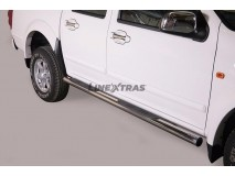 SIDE STEPS INOX DOUBLE CAB GREAT WALL STEED 5