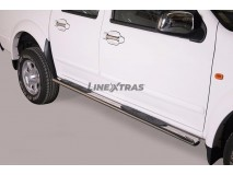 OVAL SIDE STEPS INOX D/C GREAT WALL STEED 5