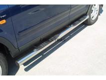 Side Steps Honda CR-V 02-04 Stainless Steel Tube 76MM