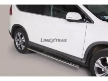 Estriberas Honda CR-V 12-15 Inox GPO