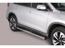 Side Steps Honda CR-V 2016+ Stainless Steel Tube 76MM