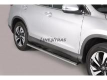 Estriberas Honda CR-V 2016+ Inox GPO