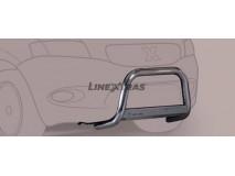 Big Bar U Hyundai Galloper Innovation 99-01 Stainless Steel W/O EC
