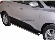 Estriberas Hyundai IX35 2011+ Inox GPO