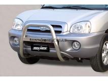 Bull Bar Hyundai Santa Fe 00-06 Stainless Steel