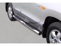 Side Steps Hyundai Santa Fe 05-06 Stainless Steel Tube 76MM