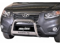 Big Bar U Hyundai Santa Fe 10-12 Stainless Steel W/ EC
