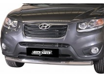 Front Protection Hyundai Santa Fe 10-12 Inox 76ММ