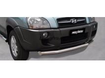 Front Protection Hyundai Tucson 04-14 Inox 76ММ