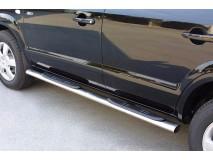 Estriberas Hyundai Tucson 04-14 Inox GPO