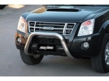 BIG BAR U INOX 76MM ISUZU D-MAX 2007 C/ECE