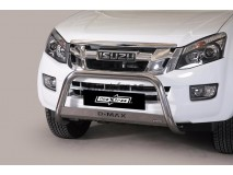 BIG BAR U W/NAME INOX ISUZU D-MAX 2012 C/ECE