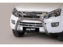 BIG BAR U INOX 76MM ISUZU D-MAX 2012 C/ECE