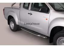 ESTRIBOS INOX 2P. ISUZU D-MAX 2012