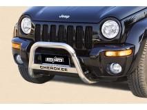 Big Bar U Jeep Cherokee 01-07 Stainless Steel W/O EC