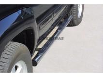 Side Steps Jeep Cherokee 01-07 Stainless Steel Tube 76MM