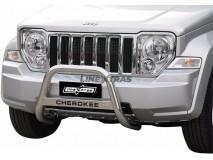 Big Bar U Jeep Cherokee 08-13 Stainless Steel W/O EC