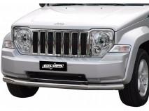Front Protection Jeep Cherokee 08-13 Inox 76ММ