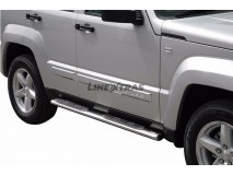 Side Steps Jeep Cherokee 08-13 Stainless Steel GPO