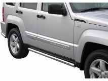 Side Protections Jeep Cherokee 08-13 Stainless Steel Tube 63MM