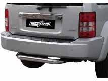 Rear Protection Jeep Cherokee 08-13 Stainless Steel 76MM