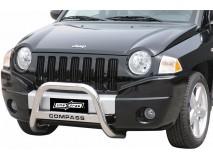 Big Bar U Jeep Compass 07-10 Stainless Steel W/O EC