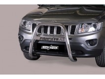Bull Bar Jeep Compass 11-17 Stainless Steel