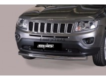 Front Protection Jeep Compass 11-17 Inox 76ММ