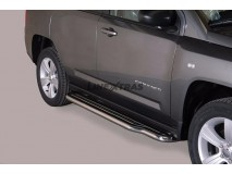 Side Steps Jeep Compass 11-17 Stainless Steel W/ Platform