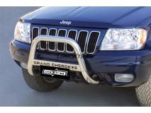 Big Bar U Jeep Grand Cherokee 99-05 Stainless Steel W/O EC