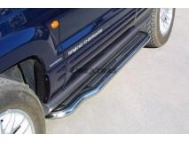 Side Steps Jeep Grand Cherokee 99-05 Stainless Steel W/ Platform