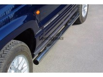 Side Steps Jeep Grand Cherokee 99-05 Stainless Steel Tube 76MM