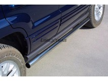 Side Protections Jeep Grand Cherokee 99-05 Stainless Steel Tube 63MM