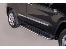 Side Steps Jeep Grand Cherokee 11-14 Stainless Steel W/ Platform