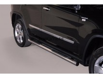 Side Steps Jeep Grand Cherokee 11-14 Stainless Steel Tube 76MM