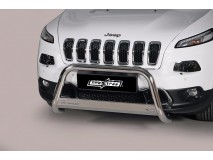 Big Bar U Jeep Cherokee 2014+ Stainless Steel W/ EC