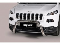 Big Bar U Jeep Cherokee 2014+ Stainless Steel 76MM W/ EC