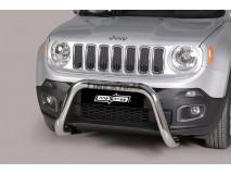 Big Bar U Jeep Renegade 2014+ Stainless Steel 76MM W/ EC