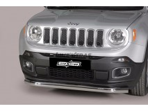 Front Protection Jeep Renegade 2014+ Inox 76ММ