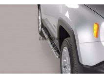 Side Steps Jeep Renegade / Renegade Trailhawk 2014+ Stainless Steel GPO